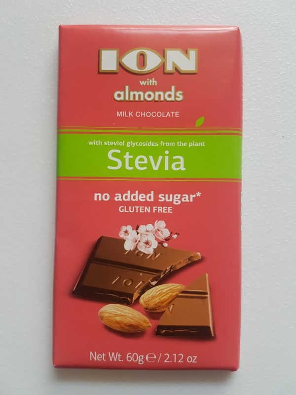ION Milk Chocolate with Almonds - No Added Sugar