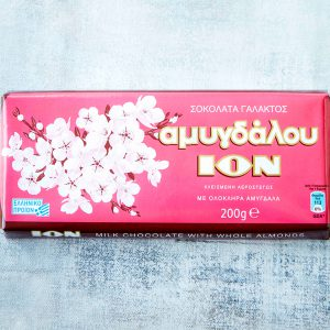 ION Milk Chocolate with Whole Almonds