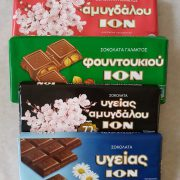 Mix of ION Greek Chocolates