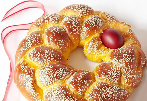 Tsourekia Easter Bread